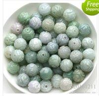 Wholesale 168 Emerald bead jade materials home DIY Hand Beaded jade carved jade bead jewelry accessories