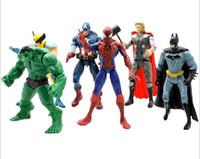 Wholesale The Avengers Set of Marvel Hero Captain Iron Man the Hulk