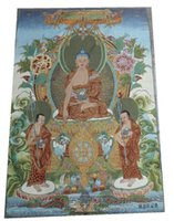 antique silk curtains - Miscellaneous antiques Buddhist supplies Tibet Tibetan Thangka embroidery exquisite embroidery