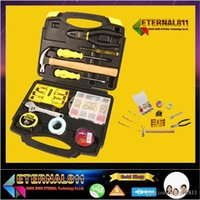 Wholesale HOT Using high quality full set sets of household regular hardware tool kit Repair of household industrial outdoor use chrome tangsten