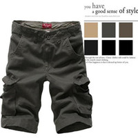 Wholesale 2015 Hot Sale Summer Men s Army Cargo Work Casual Plus size Sports Shorts