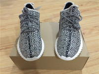 Wholesale Discount YEEZY BOOST Turtle Dove Yeezy Cheap Classic Gray Black Men s Fashion Sneaker Shoes With Box For Man Woman Dropshipping