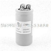 ac run capacitors - CD60 AC V uF Polypropylene Film Motor Start Run Capacitor Gray