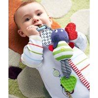 Wholesale 2015 New Arrive Music Elephant Lathe Hang Baby Kids Dolls Multifunction Educational Toys Teether