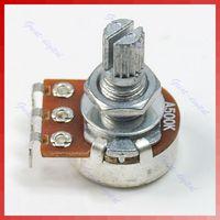 Wholesale F85 New A500K Split Shaft Pots Potentiometer Guitar Audio Tone Switch