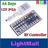 Wholesale Cheap new V A Keys LED Controller IR Remote controller for RGB LED Strip Light SMD SMD