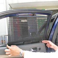 Wholesale Automatic retractable window car curtain sun shading curtain pleated blinds sunscreen sun shading curtain automatic blinds