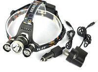 Wholesale 5000 Lumen XCREE XM L T6 LED Headlamp Headlight Head Torch Lamp XCharger