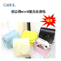 Wholesale CAIUL fujifilm instax mini Camera bag Cases cover Polyester colours outdoor travel fillm paper Camera cases