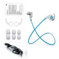 order free cell phones - High Definition Sports Bluetooth Wireless Stereo Headset Sweatproof Earbuds Earphone Red Green Blue Mixed Order