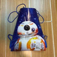 Wholesale Star Wars Storage Bag Backpacks Star Wars bb Drawstring Bags Polyester bag Storage Bags Styles