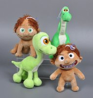 Wholesale Retail Pixar Movie The Good Dinosaur Spot Arlo Dragon Plush Doll Stuffed Toy Kawaii Jurassic World Arlo Dinosaur Hot Toys Kids Gifts