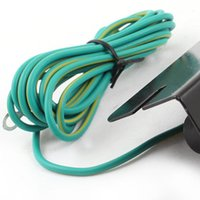 battery ground cable - FS Hot ESD Ring Terminal Cable Anti Static Socket Ground for Wrist Strap order lt no track