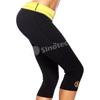 Wholesale Hot Slimming Shaper Leg Sauna Shapers Fit Sweat Body Pant Stretch Neoprene Control Pantie Butt Enhancer Lift Panty DHL Free Factory Direct
