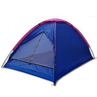 Wholesale Factory folding waterproof outdoor tent Dichotomanthes double single beach camping relief LotionCouple double single tent