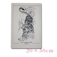Wholesale Tattoo design tiger Practise Skins For Supply Power Needles x30cm Grip Tubes