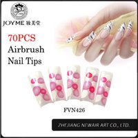 artificial nail product - Cute products french nail art tips DIY beauty dot glitter french nails colorful artificial nail art tips more sizes
