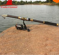 Wholesale New Portable MTelescope Fishing Rod Carbon Spinning Casting Rock Fishing Pole Stick Fishing Rod For Sea Boat fishing