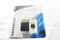 Wholesale NEW DHL Sell high speed GB GB Class Micro SD TF Memory Card with Adapter Retail Package Flash Cards Transflash