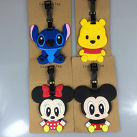 Wholesale kawaii cartoon movie verney daisy donald duck stitch mickey cartoon lage tag labeling supplies