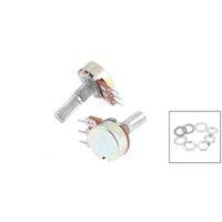 Wholesale US Fast Shipping K Ohm Terminals Silver Tone Split Shaft Potentiometer order lt no track