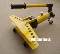 bending machine tools - WEIGUO hydraulic pipe bender pipe bending tool SWG inch manual bending machine