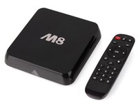 Cheap M8 Android TV Box Amlogic S802 Quad Core Cortex-A9 XBMC Android 4.4 4K KitKat HDMI 2G 8G Dual Mali-450 WiFi Smart Media Player PC HD IPTV