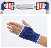 Wholesale 5Pcs Men Women Sport Anti Skid Weight Lifting Gloves Fingerless Gloves Climbing Hiking Palm Guards Brace Wrist Protector