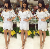 Wholesale New Arrival Hot Women Clothing Dress Sexy Night out club Dress For Big Gir Sexy Lace Dress Nighr out club Sexy Lace Dress