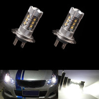 h7 super white - 2 X H7 W CREE LED Fog Tail Driving Car Head Light Lamp Bulb White Super Bright