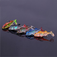 bass the fish - fishing lure soft lure Hard bait Bass fishing lures Swimming in the water is very realistic With double hook Fishing gear accessories baits