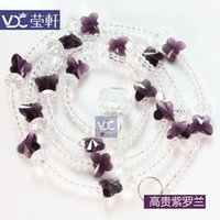 Wholesale meters SET Glass Crystal Beads Curtain Window Door Curtain Passage Wedding Backdrop