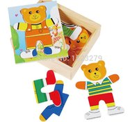 baby brain development - little bear s locker jigsaw puzzle box Little bear dressing puzzle Color box the development of the brain Baby initiation toy