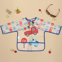baby bibs waterproof backing - Cute Multi Color EVA Baby Toddler Coverall Bib Apron With Cute Animals And Waterproof Backing order lt no tracking