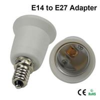 Plastic E26 CE LED Bulb Base Adapter Socket Converter Socket E14 to E12 E26 to E14 E26 to E27 E26 to B22 B22 to E26 Converter for LED Halogen CFL Light