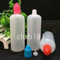 Wholesale The cheapest prices empty Bottle ml Plastic Dropper Bottle E Liquid Bottle Childproof Cap Long Needle Tip Dropper Bottle