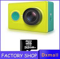 Wholesale New Xiaomi Xiaoyi Sport Car Camera Xiaomyi Action Sports travel Camera MP X3456 x1080p mAh WIFI Bluetooth and drop ship