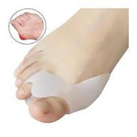 Wholesale Genuine new special hallux valgus bicyclic thumb orthopedic braces to correct daily silicone toe big bone JIA025