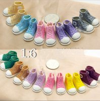 doll shoes - Colorful Bjd Shoes Sd Doll Bjd Doll Shoes Canvas Sneakers Shoes For BJD Doll Frozen A pair
