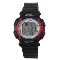 Wholesale 2015 hot Fashion Sports LED Light Waterproof Boys Electronic Wrist Watch Vee