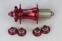 bicycle hub caps - IN FasTace DA62 MTB disc brake Holes QR Rear Hub free side caps adaptors for mm mm X12 thru axle Mountain Bicycle