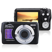 Wholesale AMKOV OE3 quot TFT LCD Screen HD P Digital Camera Video Camcorder MP With X Optical Zoom X Digital Zoom Anti shake