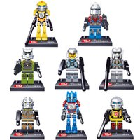Wholesale Transformation Optimus Prime Bumblebee Minifigure Building Blocks Bricks Assembled Toys Compatible With LegoMinifigure kids blocks