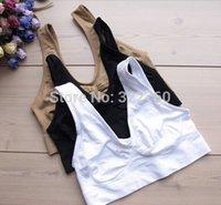 Wholesale Hot Sale Bras Sutian Shipping Ladies Underwear Sports Bra Seamless Without Steel Prop Sleep no box