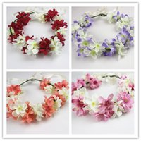 Wholesale womens seaside hair crowns bride hair accessories