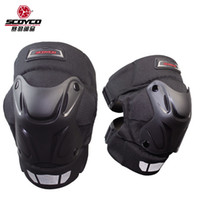 Wholesale 2015 New SCOYCO motorcycle kneecap biker multi purpose knee guards wind keep warm kneepad K15 made of ABS and for FREE SIZE