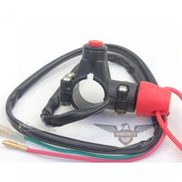 Wholesale GOOD DESGIN ATV QUAD DIRT BIKE CLOSED HANDLEBAR MOUNT BREAK TETHER ENGINE KILL SWITCH TO PROTECT KIDS