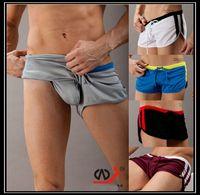 board shorts - 2015 new Fashion Swimwear Mens Men Minimalist Movement Men s Boxer Swimming Trunks Men s Swim Sexy Panties YK