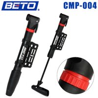 Wholesale Mini Plastic Lightweight Portable Cycling Bike Air Pump Bicycle Tire Inflator with Bracket BETO CMP