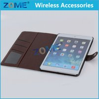 jeans wholesale price - Price Case Tablet Case Stand Case For iPad Mini Jeans Fabric Leather Case with Ajustable Function Tablet Case Cute Case for Kids